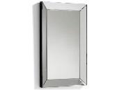 Espejo rectangular con marco biselado