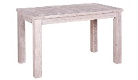 Mesa de comedor de madera de pino - Mesa de comedor con madera de pino a base de palets reciclados.