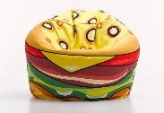 Puf hamburguesa - Puff con dise�o de hamburguesa