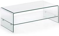 Mesa Centro Cristal Transparente -  110x55