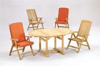 Set sillas y mesa madera modelo LAUSANA