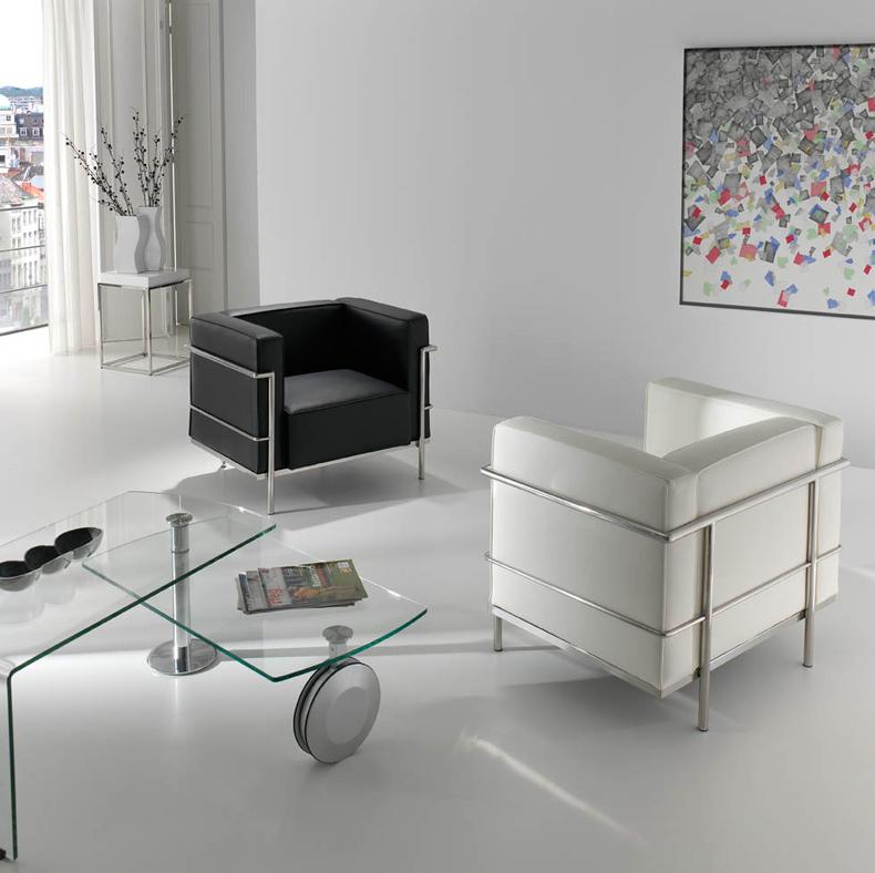 Le Industrial Design sillón arquitecto le corbusier diseño industrial le