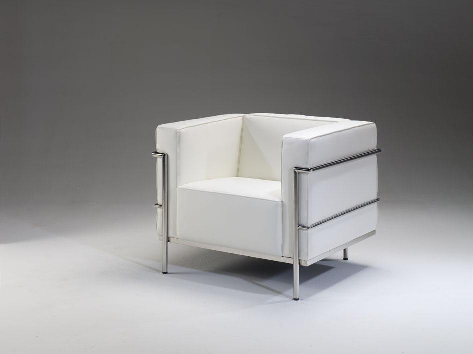 Sof s le corbusier y sill n muebles de interior muebles for Le corbusier muebles