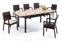 Set sillas y mesa mosaico modelo LLYMPY