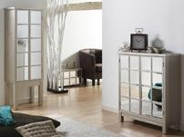 Muebles espejos - Vitrina y parador