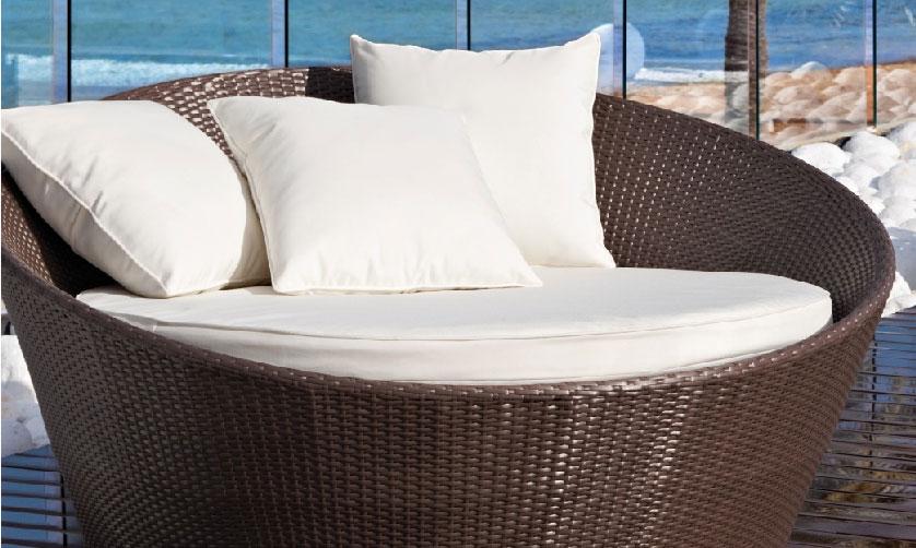 sof redondo de fibra sint tica modelo mandarache muebles