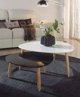 Juego de mesas nido BEDA - Juego de mesas nido BEDA, disponible en varios colores