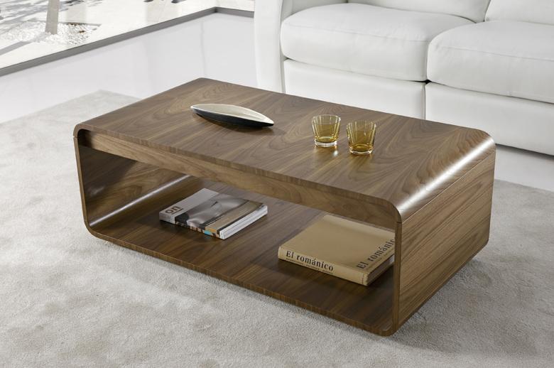Mesa de centro vintage color nogal - Mesas de centro elevables y extensibles ...