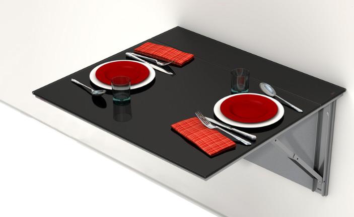 Balda abatible cocina y office mesas y sillas de cocina for Mesa abatible cocina