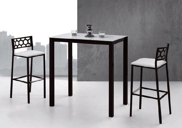 Mesa comedor alta o de cocina for Mesa alta comedor