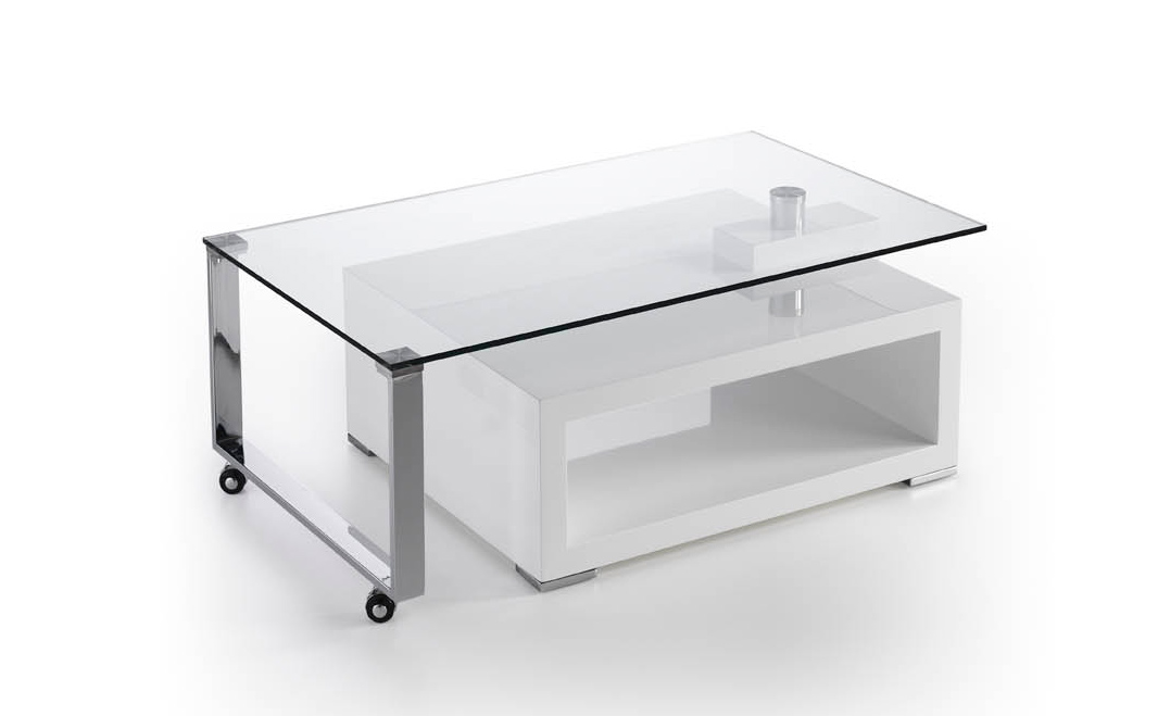 Mesa con ruedas moderna - Mesa baja salon ...
