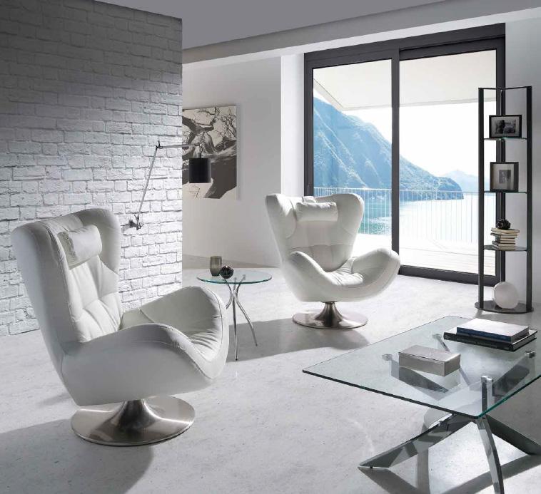 Mesas modernas de cristal - Mesa baja salon ...