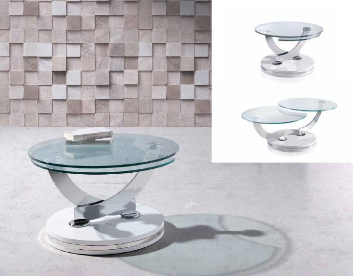 Centro de mesa en base color chocolate lilies blanca y - Mesa centro blanca ...