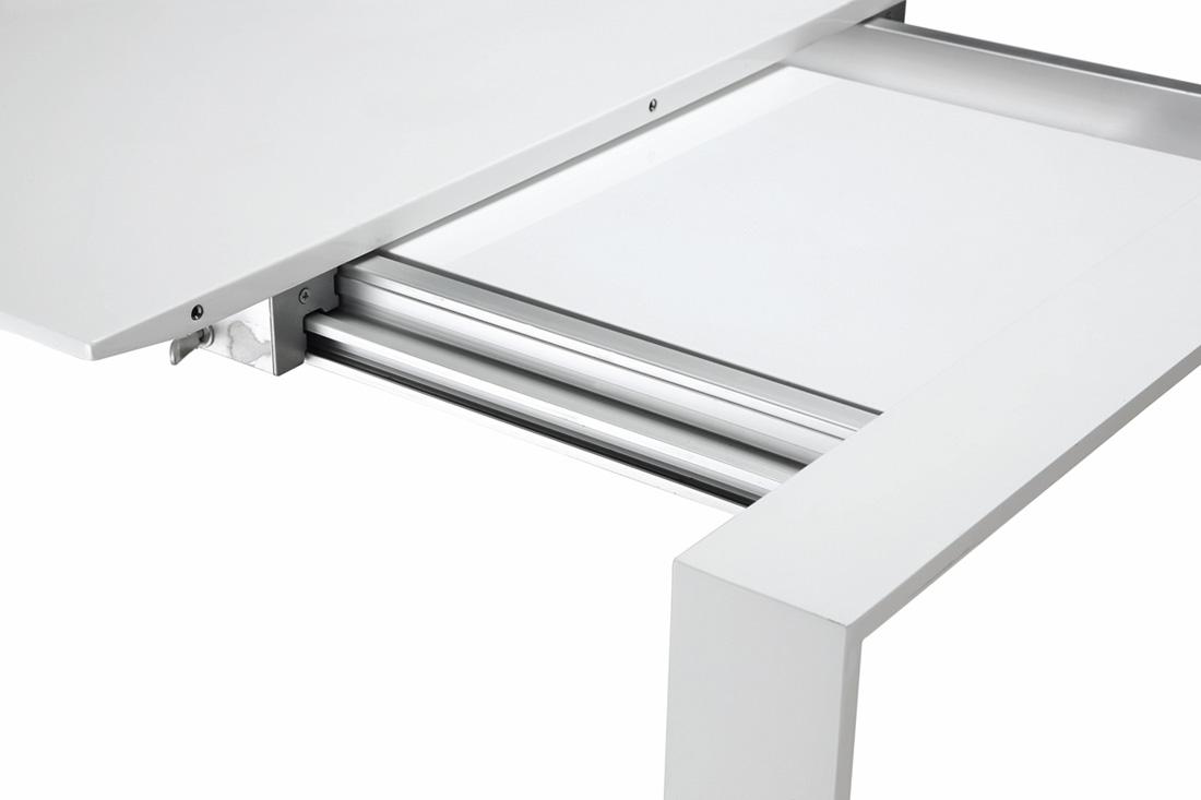 Mesa blanca lacada extensible modelo mythos 2 mesas de - Mesa blanca extensible ...