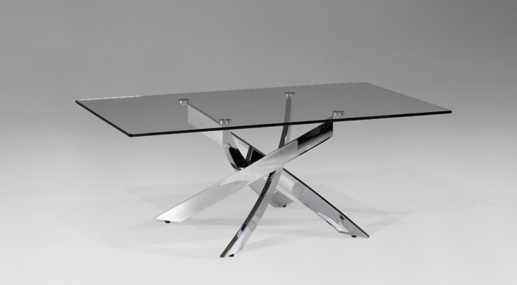 Mesas modernas de cristal - Mesa baja cristal ...