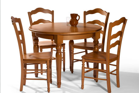 Muebles madrid muebles arganda muebles san sebasti n de for Mesa redonda de madera para cocina