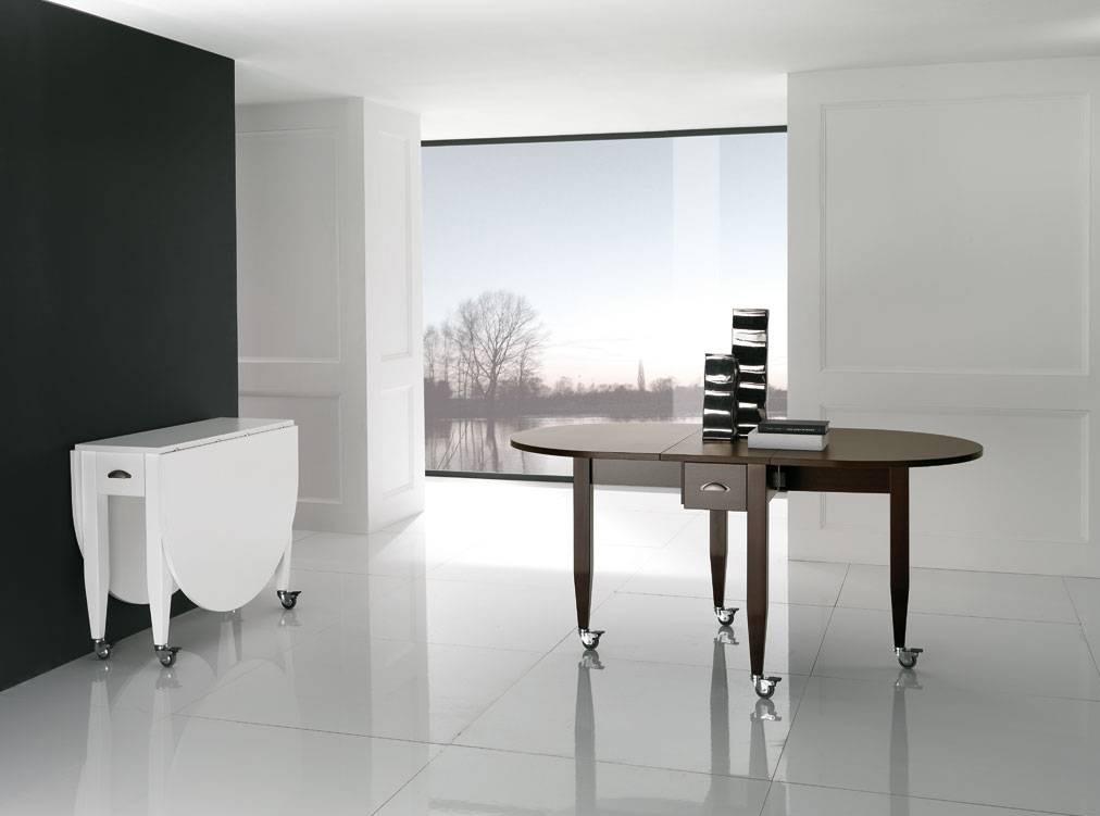 Mesa plegable y extensible madera de haya maciza - Mesa plegable extensible ...