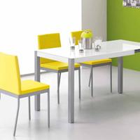 Mesa moderna delgada de cocina o comedor - Mesas de dise�o