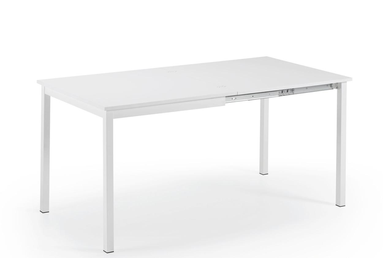 Mesa de cocina extensible cuadrada cocina y office mesas - Mesa cocina extensible ...