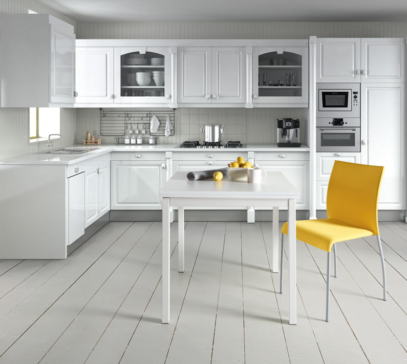 Mesa cocina peque a for Mesa ayudante de cocina