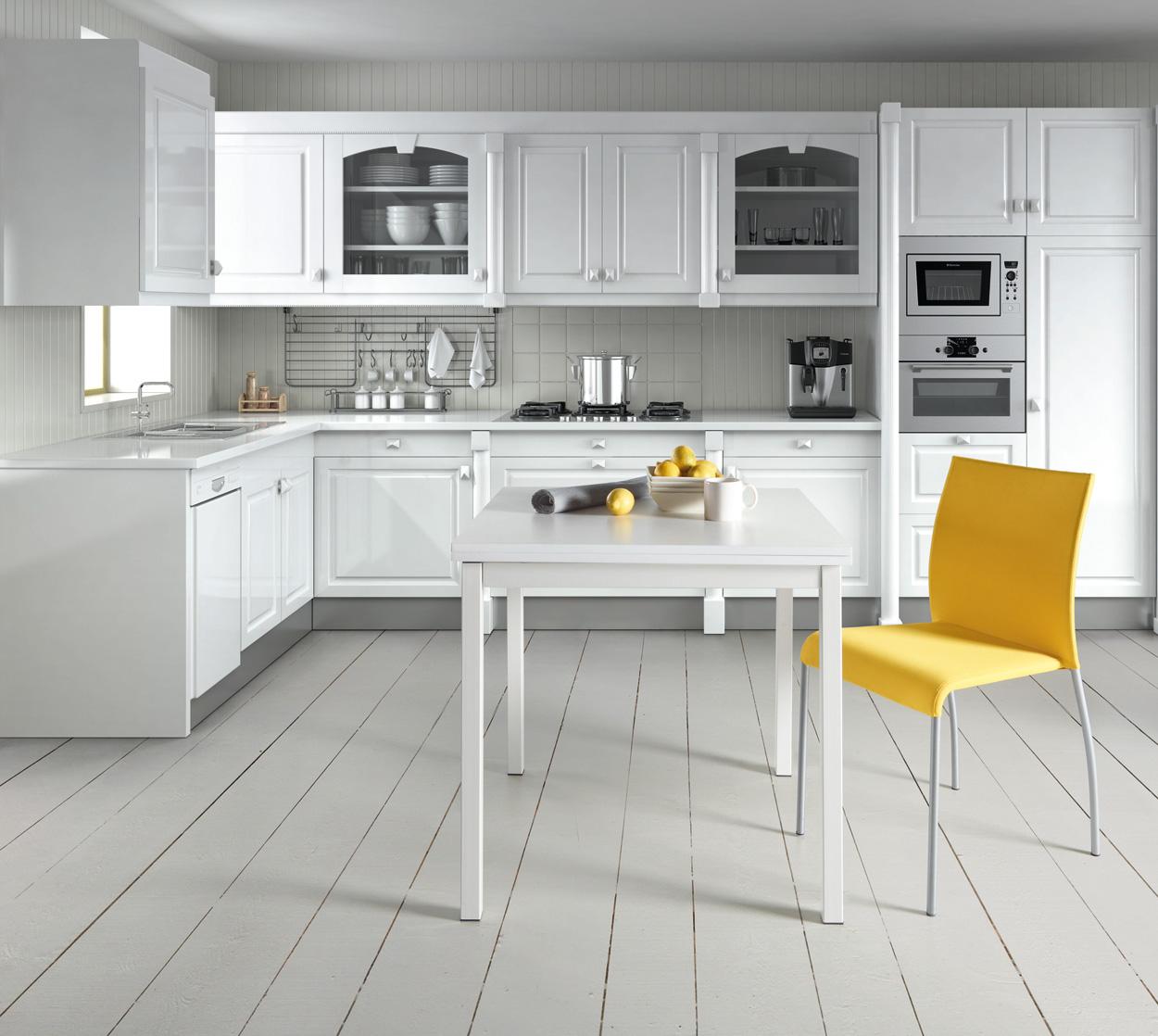 Mesa de cocina extensible cuadrada cocina y office mesas - Mesas de cocinas ...