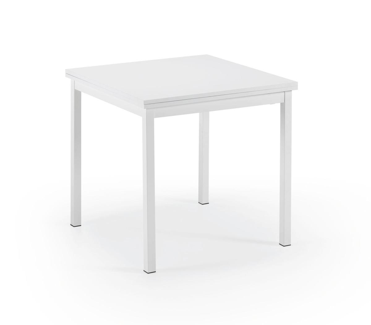 Mesa de cocina extensible cuadrada cocina y office mesas for Mesa cuadrada extensible