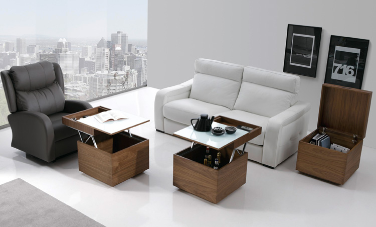 Boconcept modern coffee tables and coffee tables on pinterest - Mesa de salon elevable ...