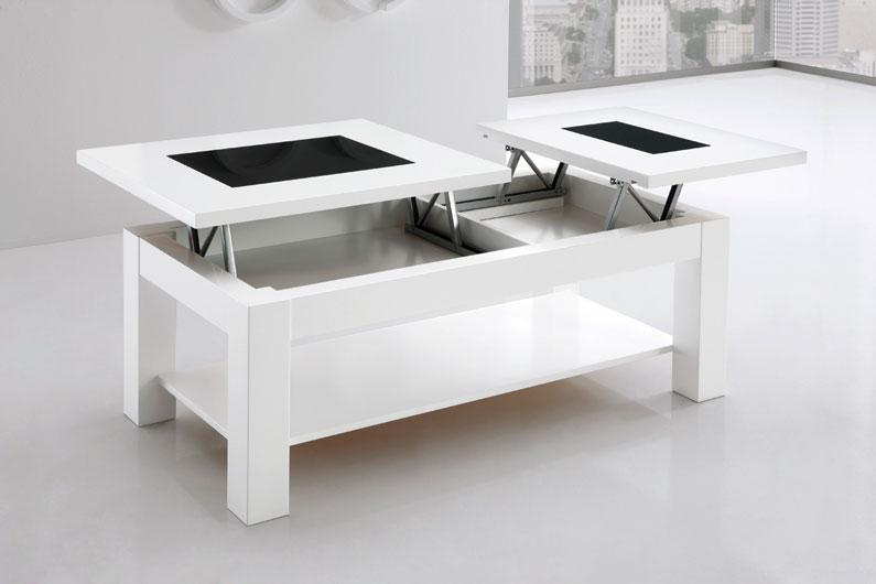 Mesa 2 tableros elevables extensible huesca teruel for Espejo joyero conforama