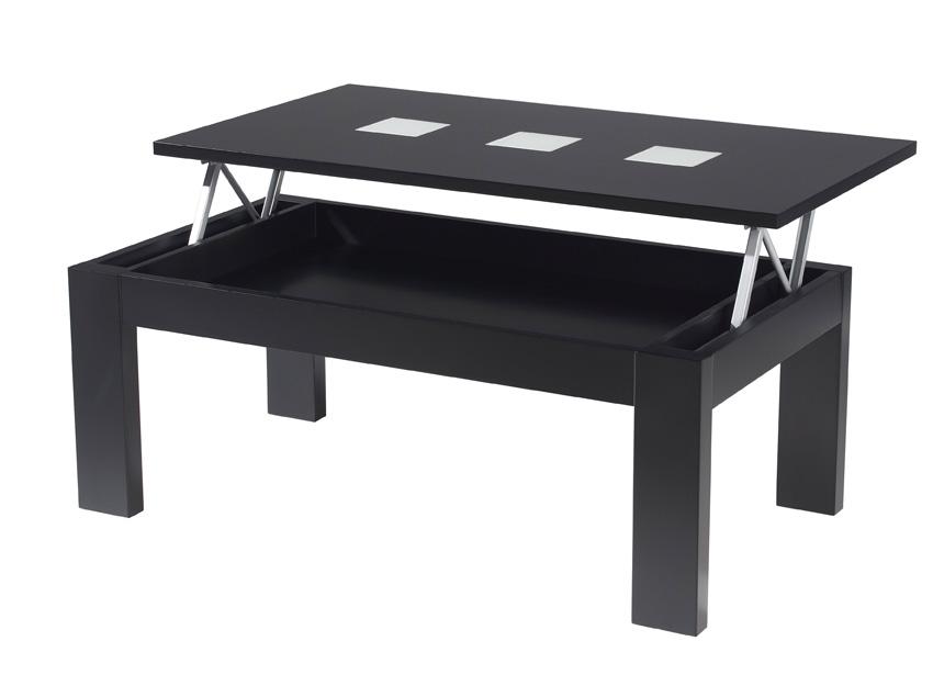 Mesa de centro elevable modelo mar2 mesas bajas de sal n - Mesas salon elevables ...
