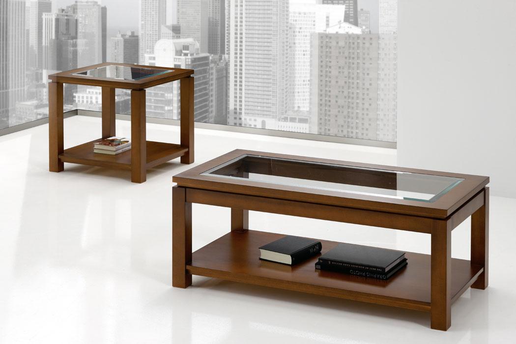 Mesa centro rinc n cajones tablero cristal elevable madrid - Mesa de centro plegable ...
