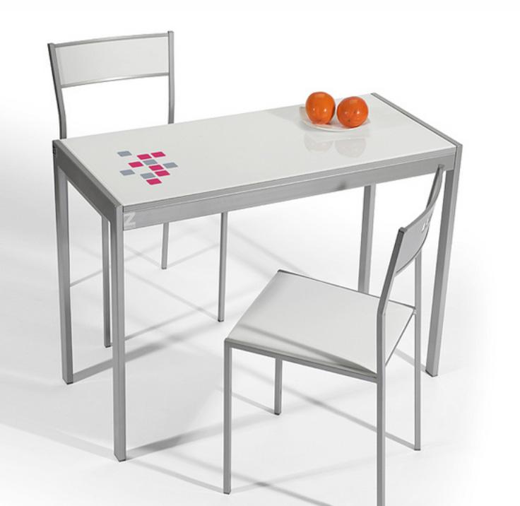 Mesa de cocina extensible cocina y office mesas y sillas - Mesas de cocina extensibles pequenas ...
