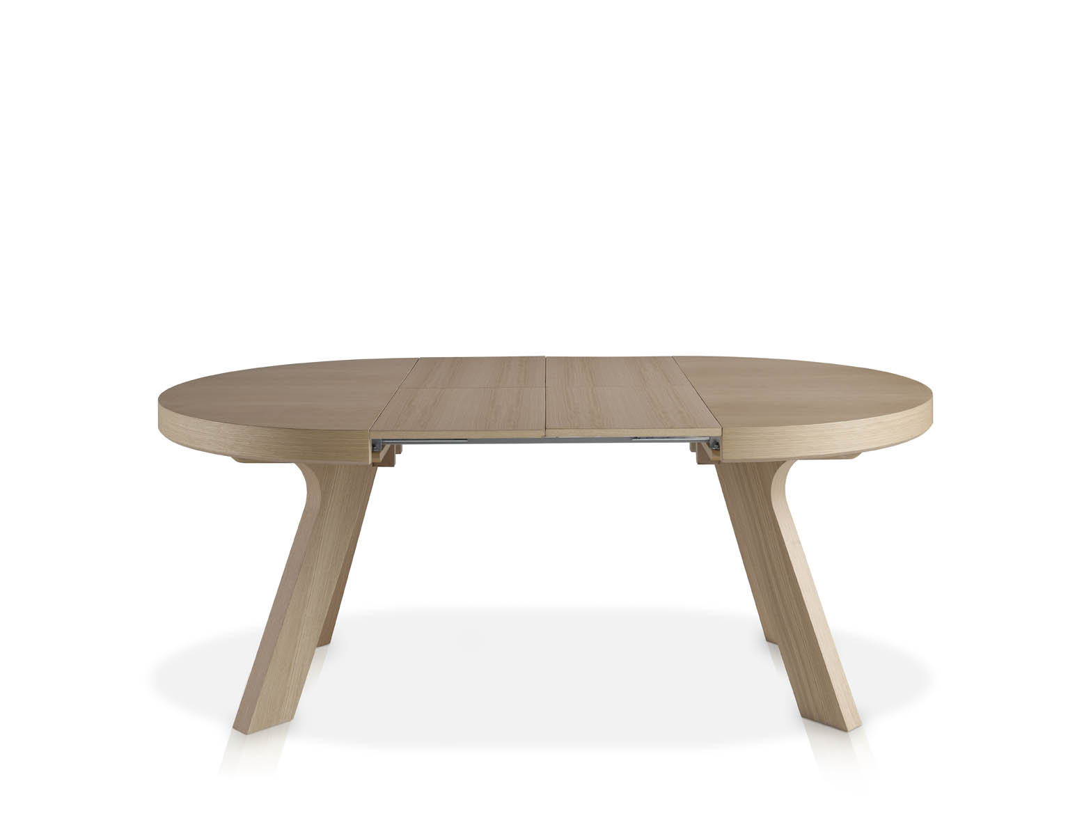 Mesa redonda extensible de madera - Mesas comedor extensibles madera ...