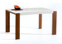 Mesa de comedor inglete en patas - Mesa de comedor extensible de madera