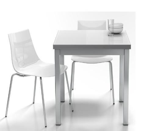 Mesa extensible cuadrada tipo libro - Mesa comedor tipo libro ...