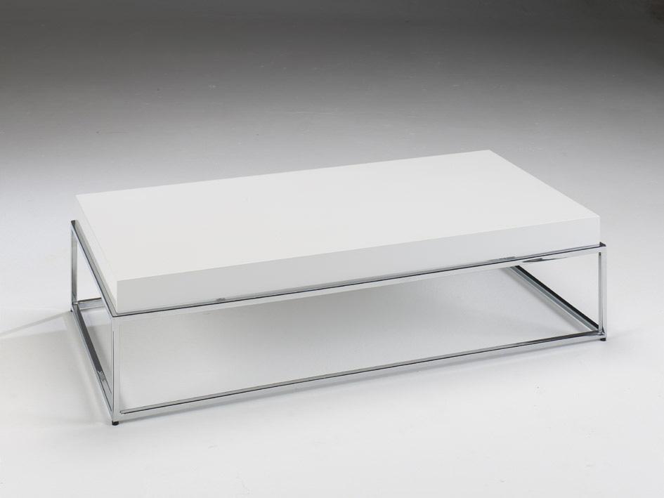 Mesa de centro negra patas met licas mesas bajas de sal n - Patas metalicas para mesas ...