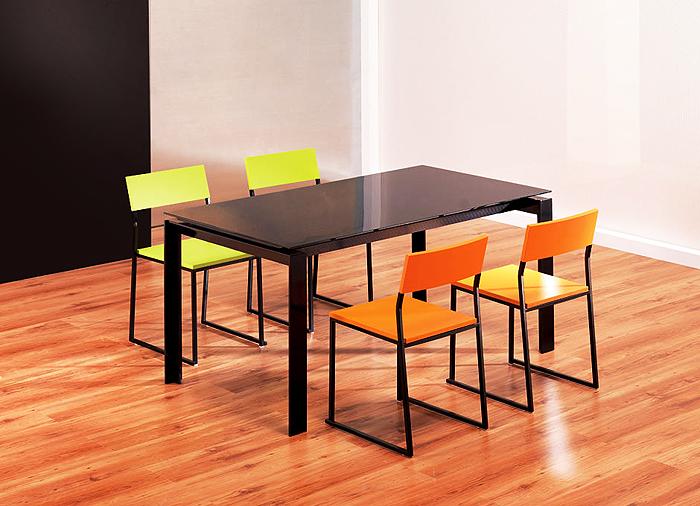 Ofertas en mesa comedor extensible a coru a for Mesa cristal 120x70