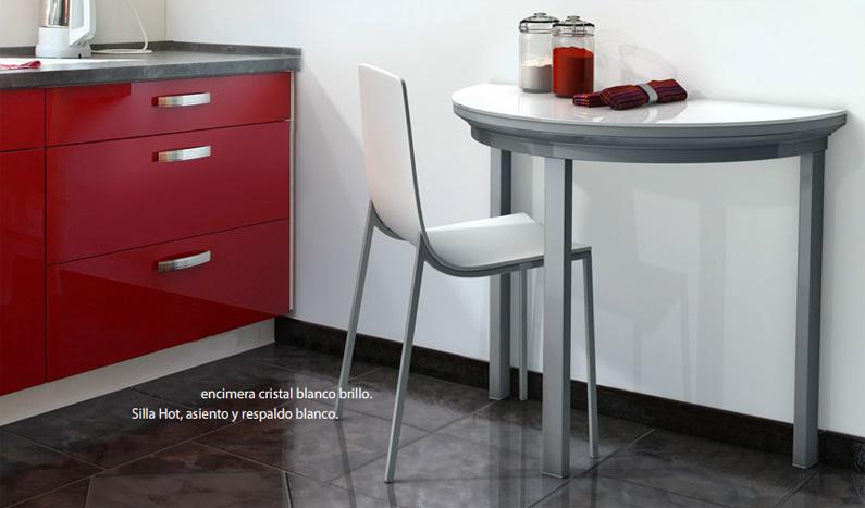 Mesas pequenas plegables ideas de disenos - Mesas cocina plegables ...