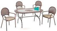 Set sillas o mesa mosaico modelo Richmond