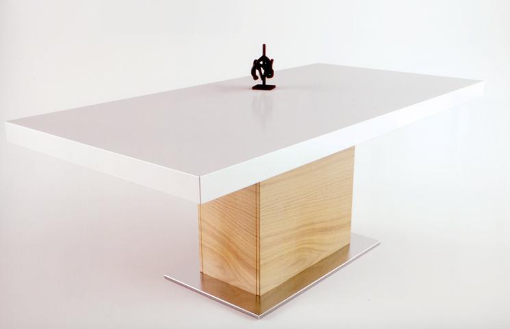 Muebles madrid muebles arganda muebles san sebasti n de for Mesa comedor pata central