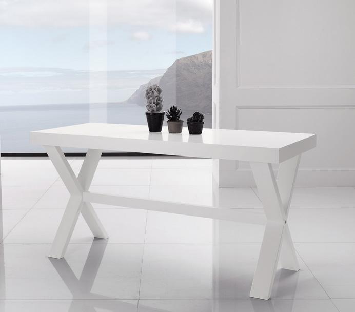 Mesa comedor fija de madera maciza - Recambio tela parasol ...