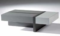 Mesa de centro rectangular con cajones - Mesa de centro rectangular