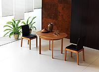 Mesa rotonda madera