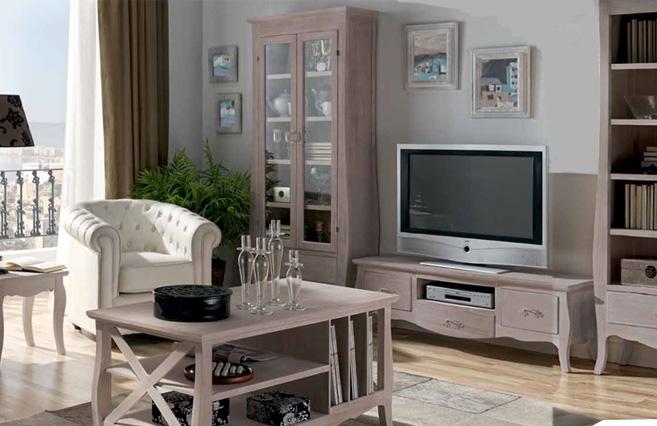 Sal n decapado mesa tv muebles de interior muebles para - Decapado de muebles ...