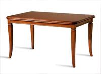 Mesa de madera extensible 5 - Mesa de comedor rectangular extensible.