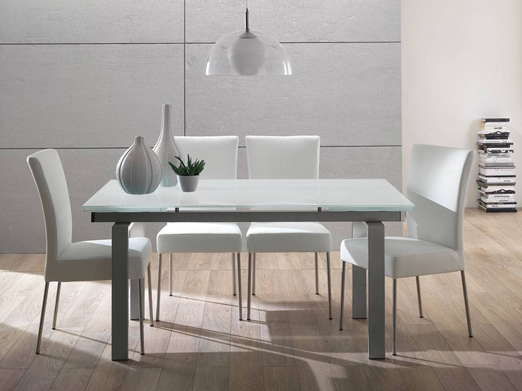 Mesa comedor dise o corte minimalista moderno limpio for Comedor moderno minimalista