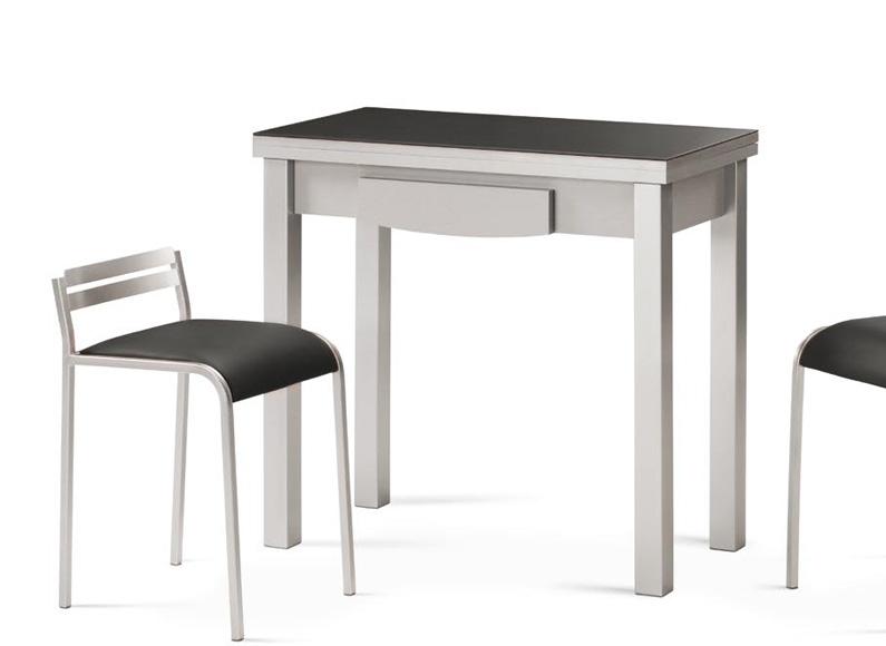 mesa de cocina peque a y extensible