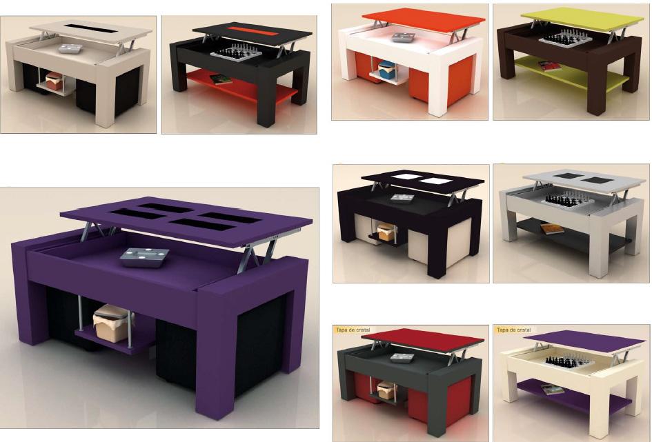Mesas lacadas de centro para salon - Centro de mesa para salon ...