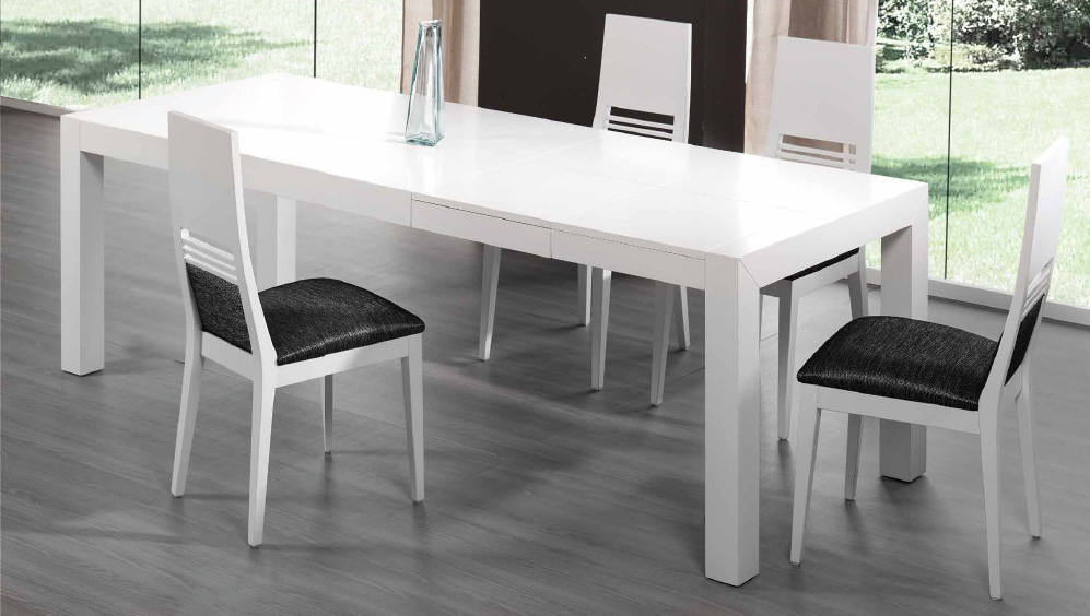 Silla moderna mesa comedor madrid for Mesa con sillas dentro