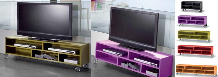 Mesa de televisi n salones modernos tienda online de muebles - Mesa de television ...