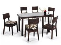 Set de sillas y mesa modelo MINOS